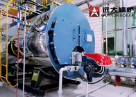 Package Type Fire Tube Oil Steam Boiler Machine 1 Ton - 20 Ton Wet Back Structure