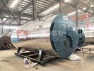 China Industrial Gas Oil Fired Hot Water Boiler For Greenhouse Heating System factory