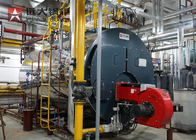 Fire Tube Three Pass Gas Steam Boiler 4 ton/hour for Food Processing