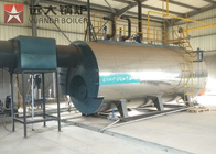 Automatic Industrial WNS Gas Oil Fire Tube Boiler Wet Back Structure