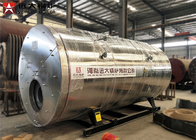 Fully Automatic High Efficiency Gas Steam Boiler Natural Circulation Compact Design