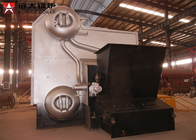 China Industrial Water Tube Wood Fired Boiler Corrugated 14 Bar Capacity 4 Tons factory