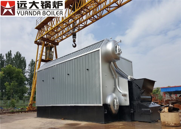 SZL 2-1.25 Low Pressure Steam Boiler Working For Textile Industry