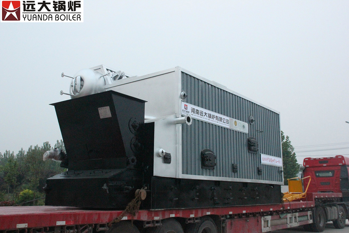 1Ton - 20 T Biomass Steam Boiler Using Wood Coal Fuel High Efficiency