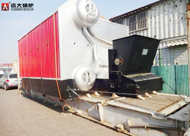 1 Ton - 20 Ton Industrial Steam Boiler , Wood Pellet Coal Fired ...
