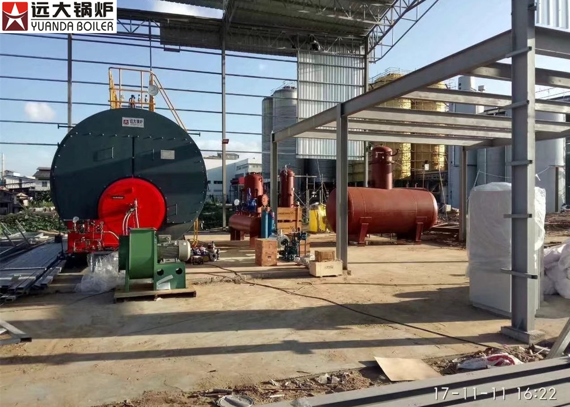 Automatic Industrial Steam Boiler For Brewery Factory , Oil Fired ...