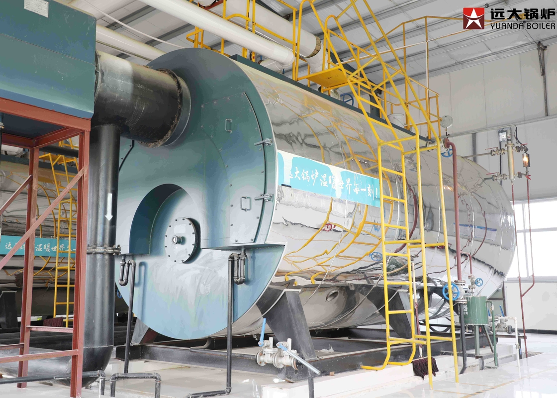 Industrial Oil Steam Boiler 6 Ton / 8 Ton / 10 Ton ISO9001 Certification