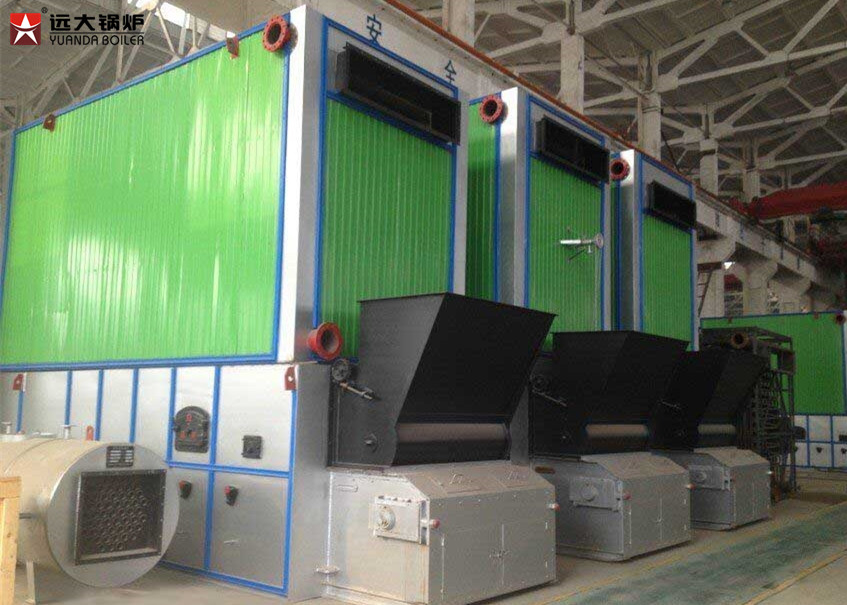 6 Ton Thermal Oil Heater Boiler High Efficiency For Production Plant
