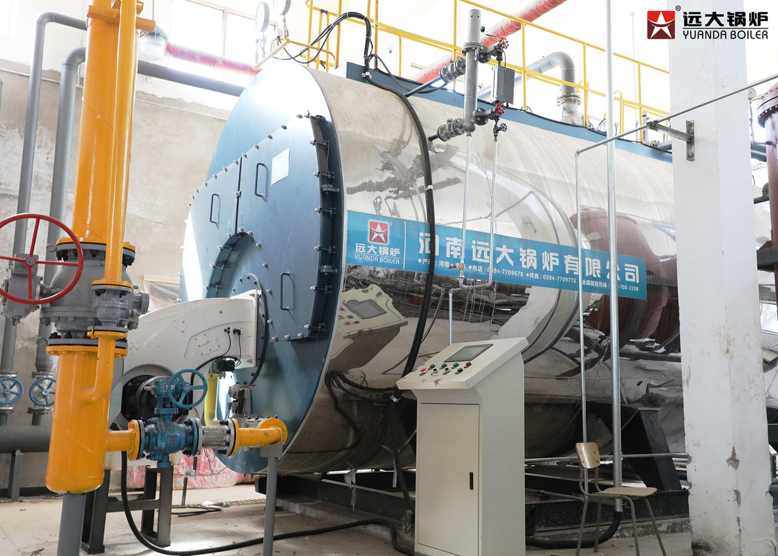 Waste Oil Fired Fire Tube Steam Boiler / Three Pass Gas Lpg Cng Boiler