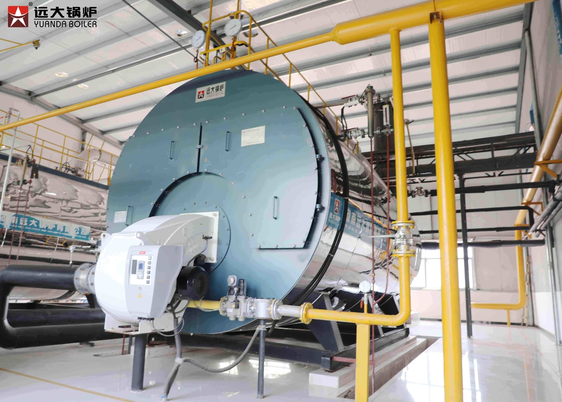 Biogas Methane Fired High Efficiency Gas Boiler 6 Ton / H For ...