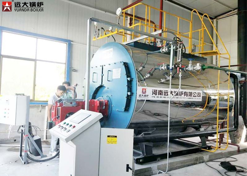 Diesel Fired Low Pressure Steam Boiler Automatic Running Boiler 3T / H