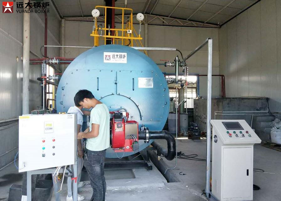 8 Ton Natural Gas Fired Industrial Steam Boiler 10 Bar Fire Tube Boiler