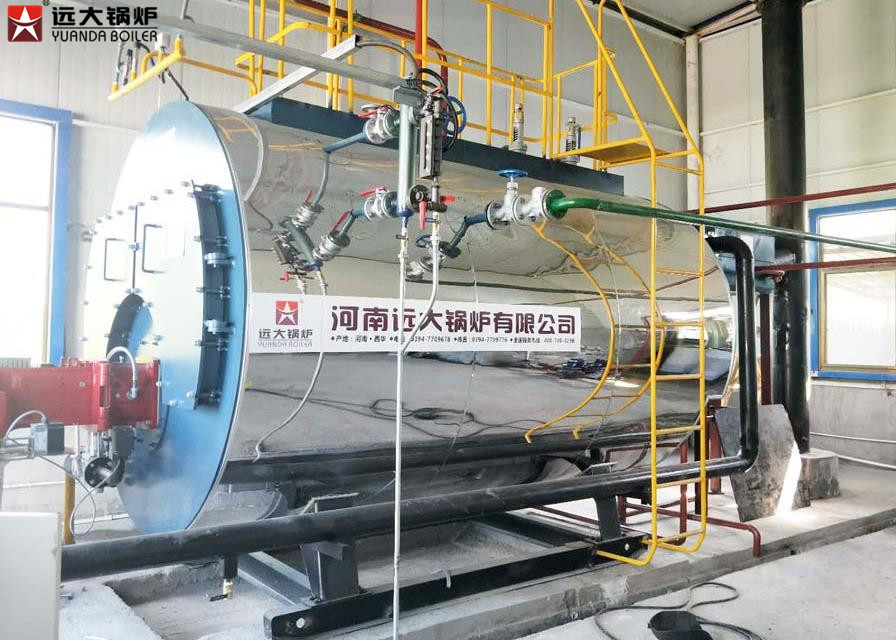 Horizontal Natural Gas Fired Steam Generator Boiler Automatic ...