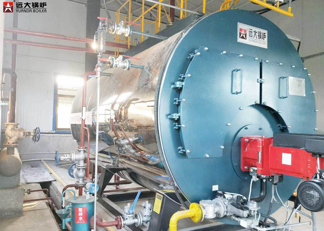 Automatic 20T Gas Fired Industrial Steam Boiler Energy Saving And ...