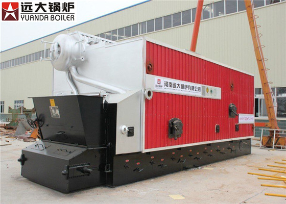China Zero Pollution 4000Kg Industrial Steam Boiler , Biomass Fired Boiler factory