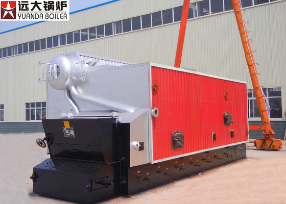 China 2 Ton 4 Ton Commercial Biomass Boiler Wood Chips Peanut Paddy Fired factory