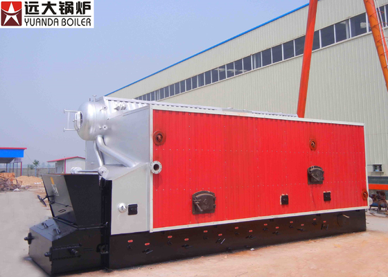 China 4000Kg Solid Pellet Sawdust Fired Boilers , Low Pressure Steam Boiler factory