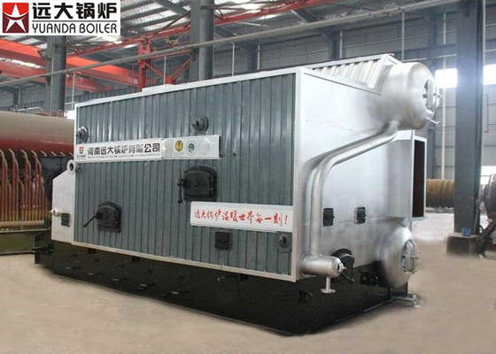 China 6 Ton Straw Dust Industrial Biomass Boiler Conveyor Feeding Running factory