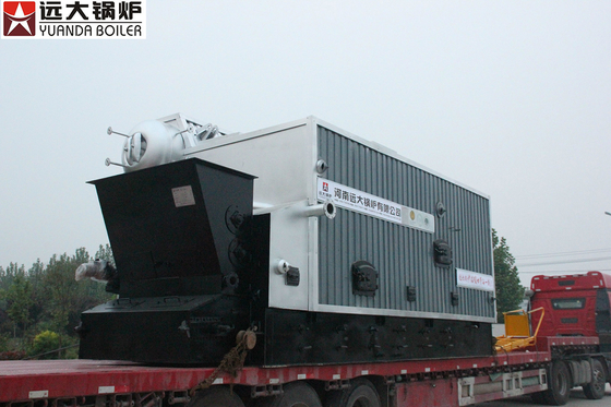 China 1Ton - 20 T Biomass Steam Boiler Using Wood Coal Fuel High Efficiency factory