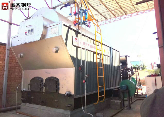 China Solid Pellet Fired Chain Grate Boiler Automatic Fuel Operation With Chain Grate factory