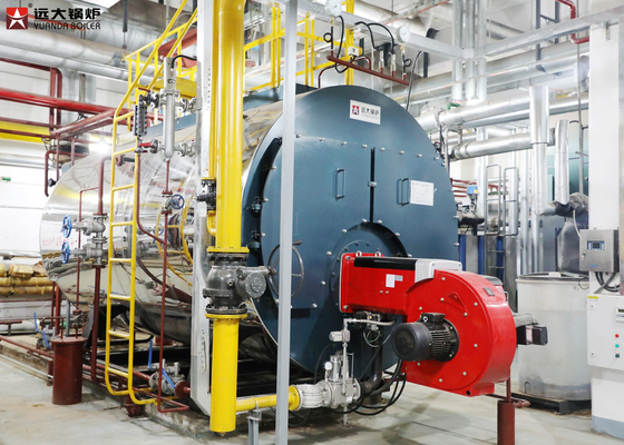 China 2 Ton 4 Ton Oil Steam Boiler Safety Operating For Industry Heating distributor
