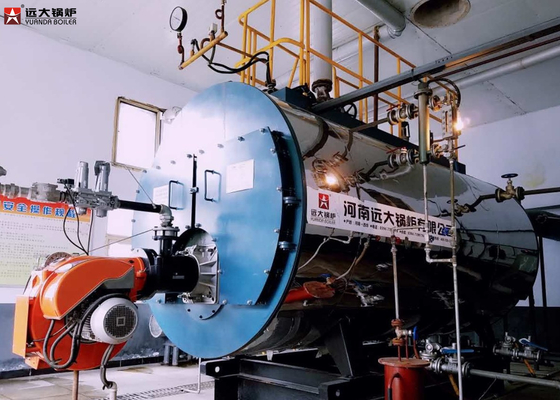 China 1.6MPa Oil Steam Boiler 10 Ton 15 Ton Capacity For Textile Factory factory