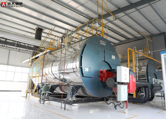 China Industrial 2 Ton Fuel Fired Boiler / Low Pressure Diesel Oil Fired Boilers factory
