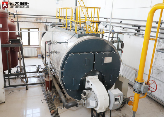 China 2000Kg 4000Kg Steam Heavy Oil Steam Boiler With High Efficiency factory
