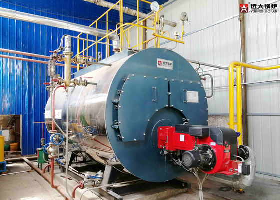 China Low Pressure Steam Boiler 2000Kg With Automatic Control System 2000kg Capacity factory
