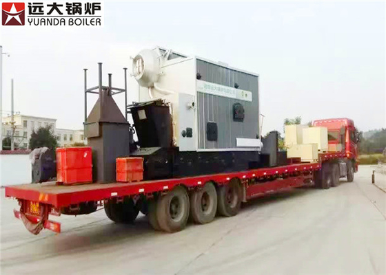 China Low Pressure Steam Boiler Natural Circulation Bagassse ISO 9001 Certification factory