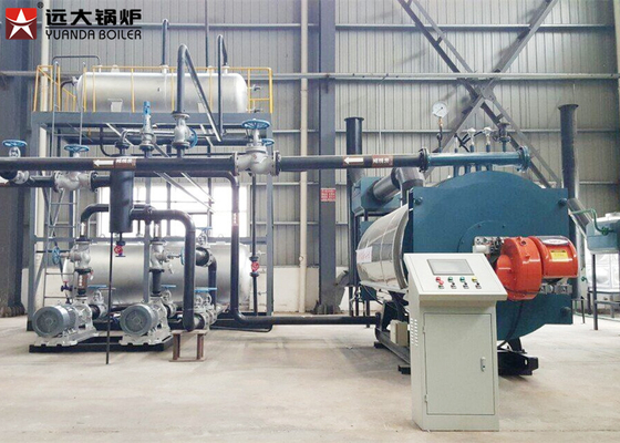 China Horizontal Thermal Oil Heater Boiler For Hot Oil Heating System Working distributor