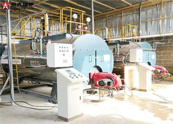 China 10 ton/h Capacity Oil Fired Hot Water Boiler 10 Ton Running Efficiently distributor