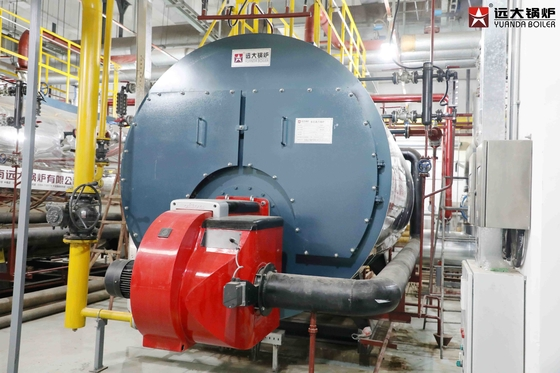 China Sufficient Steam Output Industrial Gas Boiler Runnning At Low Pressure distributor