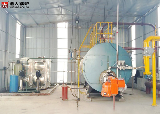China Good Steam Output Gas Fired Boiler For Sugar Mill / Rice Mill factory