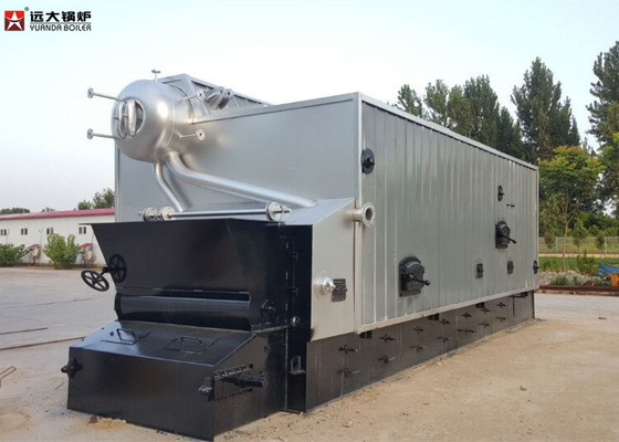 China 2 Ton Bagasse Fired Steam Boiler / Water Tube Boiler In Paper Mill distributor