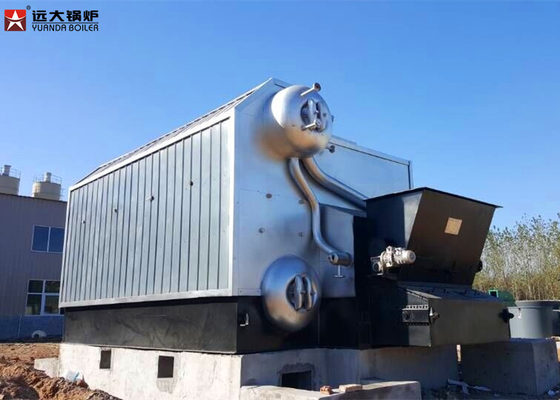 China 1 Ton - 30 Ton Solid Pellet Industrial Steam Boiler  With Chain Grate distributor