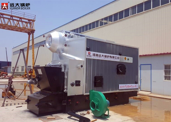 China Coal Fired Chain Grate Industrial Steam Boiler 8 Ton High Efficiency Automation factory