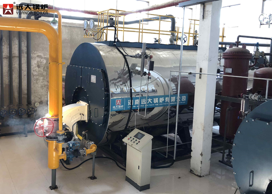 China 12T Diesel Fired Oil Steam Boiler , High Efficiency Oil Boiler Operate Safety factory