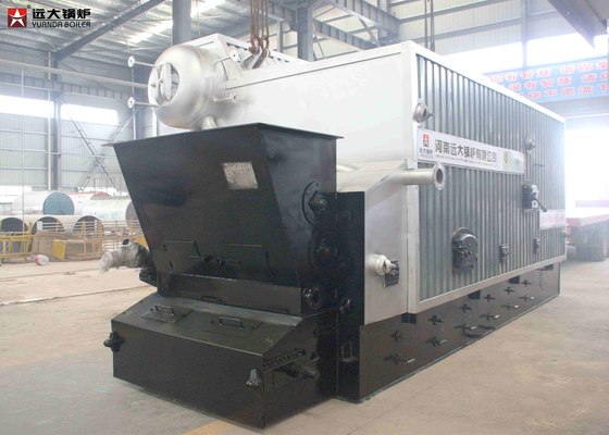 China 2 Ton Rice Husk Fired Biomass Steam Boiler For Food Making In Rice Mills factory
