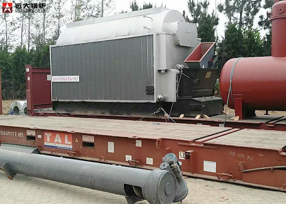 China Woodchips Ricehusk Fired Biomass Steam Boiler Steam Output 12T / Hour factory