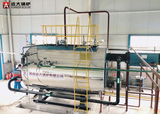 China Natural Gas Steam Boiler Fired Fire Tube Steam Boiler 1 Ton - 20 Ton Capacity factory