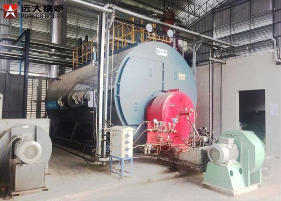 China 200Hp Commercial Gas Boiler Low Pressure Fire Tube Horizontal Boiler factory