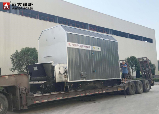 China 3500 Kw Thermal Oil Heater / Coal Fired Steam Boiler For Plywood Factory distributor