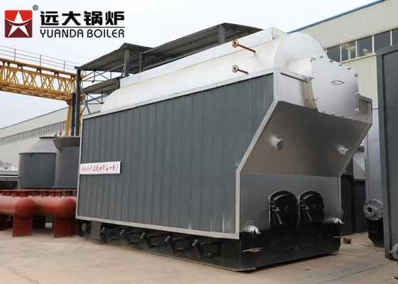 China Chain Grate Coal Fired Steam Boiler / Coal Powered Boiler For Animal Food Processing factory