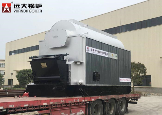China 200 Hp Biomass Rice Husk Steam Boiler Low Pressure Higher Thermal Efficiency distributor