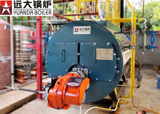 China Three Pass High Efficiency Low Pressure Steam Boiler With 2 Years Boiler Warranty distributor