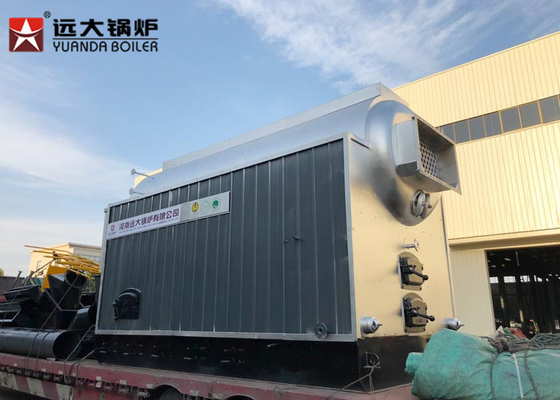 China 20 Ton Multi Fuel Biomass Steam Boiler , Chain Grate Boiler For Textile Factory distributor