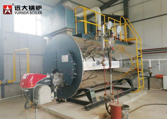 China 150Hp Horizontal Gas Steam Boiler , High Efficiency Boiler For Oil Refinery distributor