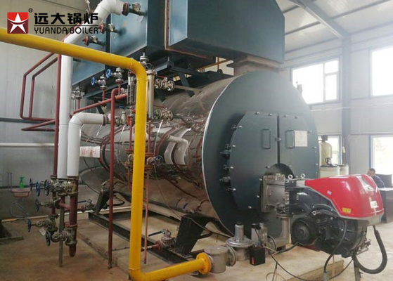 China 600 Kg Low Pressure Horizontal Fire Tube Boiler For Brewery , Easy Maintenance factory