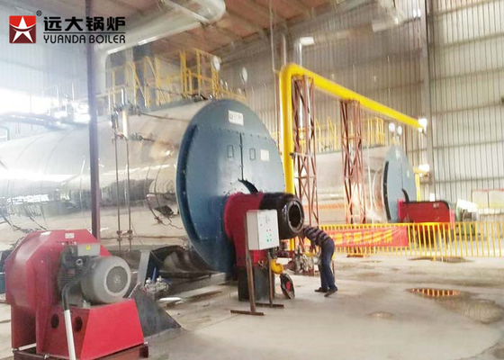 China Durable 10Tph Horizontal Fire Tube Boiler Lpg Fired Boiler Operate Automatically distributor